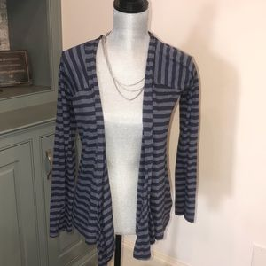 Splendid blue & grey Always Cardigan size Small